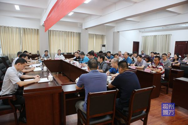 柳州:公安厅副厅长补祥斌率队到柳州市督导检查创建全国禁毒示范